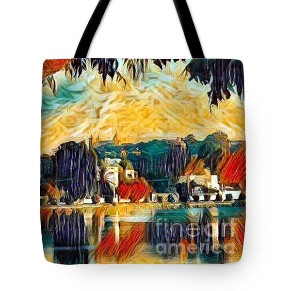 Tote Bag featuring the digital art Carthage by A zakaria Mami