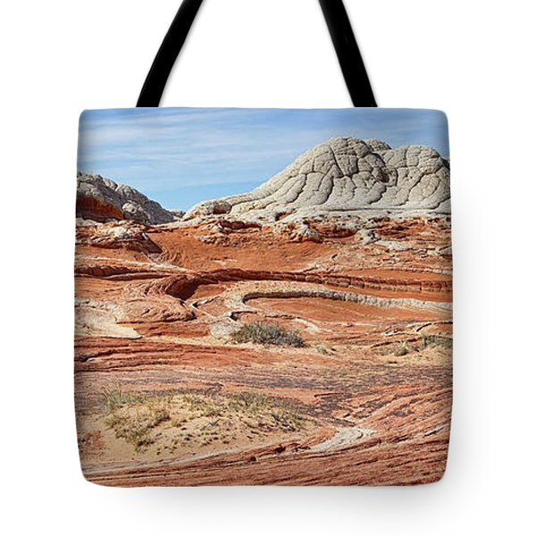 Carved In Stone Pano 2 Tote Bag