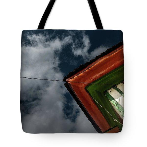 Tote Bag featuring the photograph Casa Esquinera Cafetera by Juan Contreras