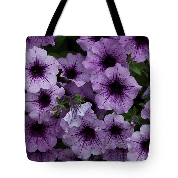 Cascade In Violet Tote Bag