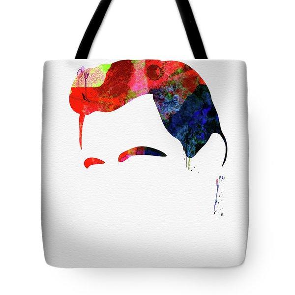 Cash Watercolor Tote Bag