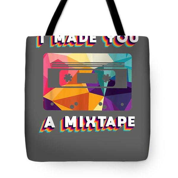 Cassette Vintage Costume Retro 80s 90s I Made You A Mixtape  T-shirt Tote Bag