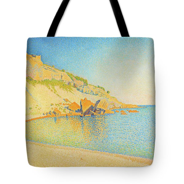 Cassis, Cap Lombard - Digital Remastered Edition Tote Bag