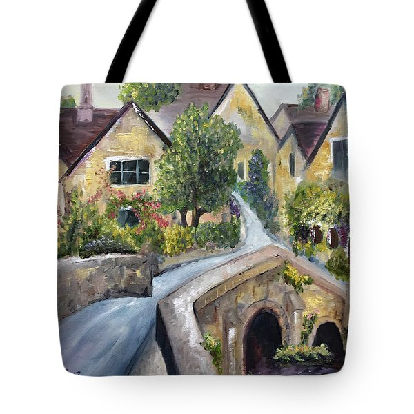Castle Combe Tote Bag