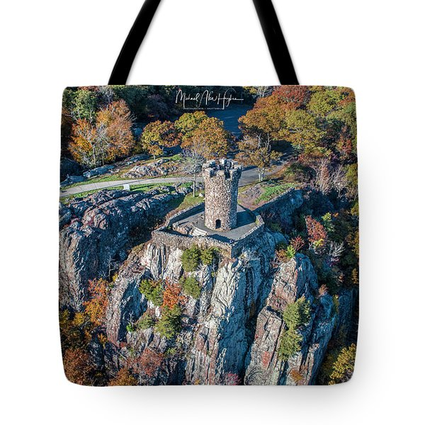 Tote Bag featuring the photograph Castle Craig by Michael Hughes