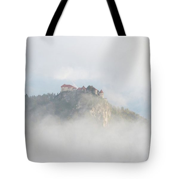 Tote Bag featuring the photograph Castle In The Sky by IPics Photography