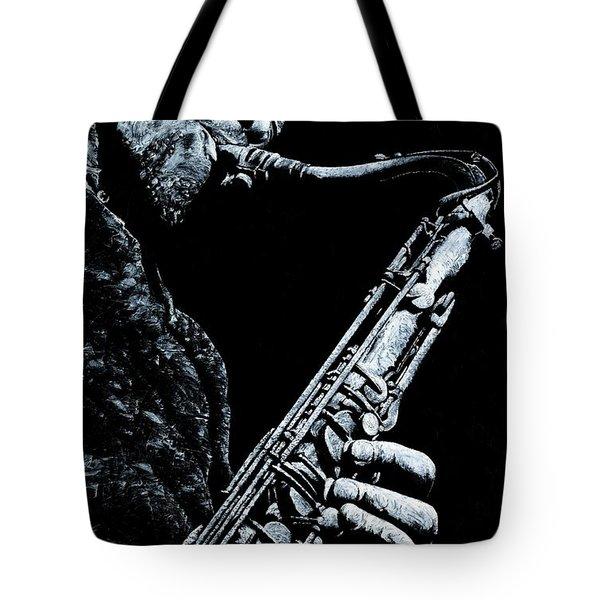 Casual Sax Tote Bag