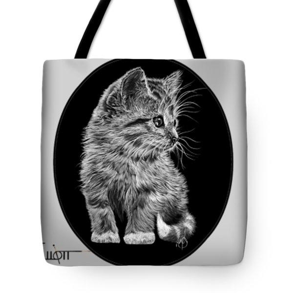 Cat Drawings Tote Bag
