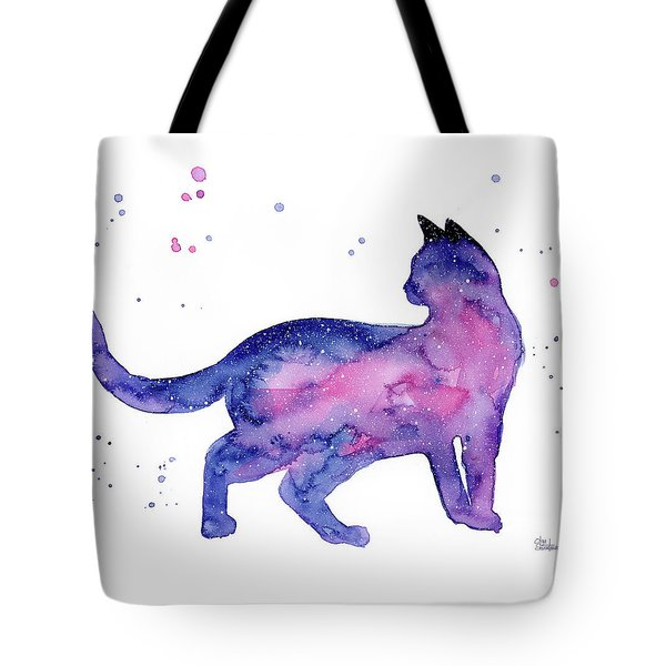 Cat In Space Tote Bag