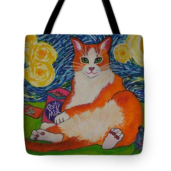 Cat Nipped  Tote Bag