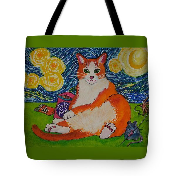 Cat Nipped  Tote Bag