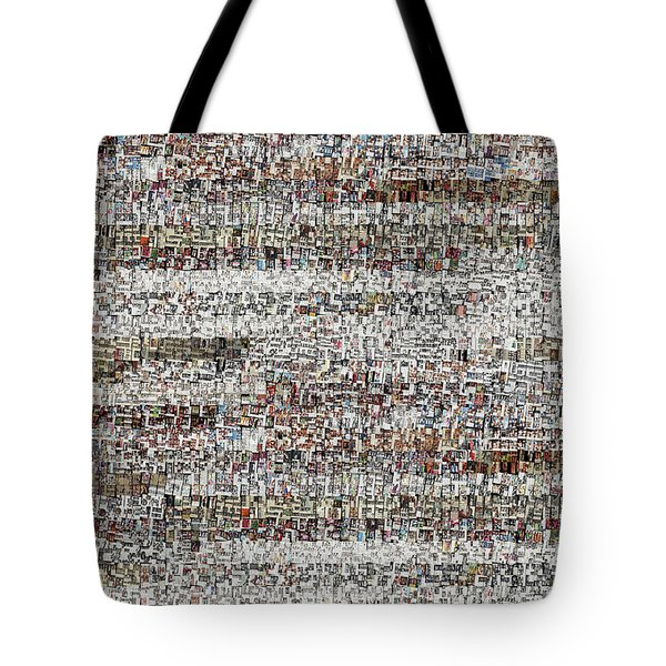 Cataloged Moments Tote Bag