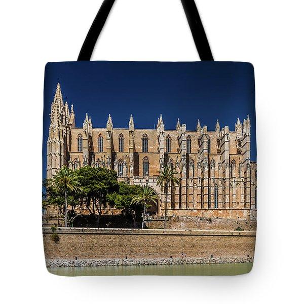 Catedral Basilica De Santa Maria De Mallorca, Spain Tote Bag