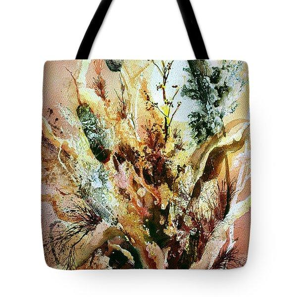 Cattail Fuzz Tote Bag
