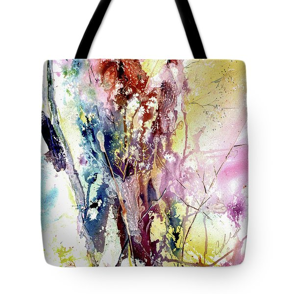Cattail Color Tote Bag