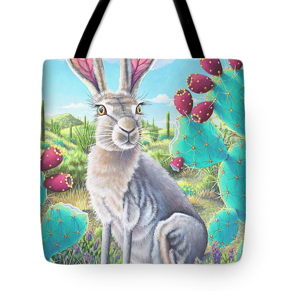 Catus Jack's Prickly Paradise Tote Bag