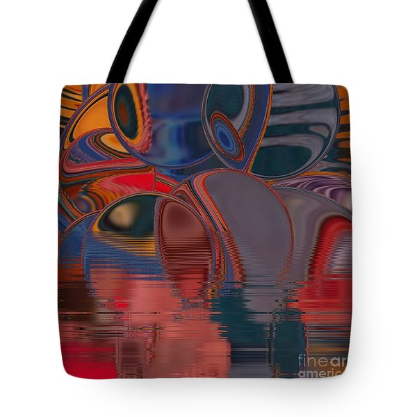 Tote Bag featuring the digital art Cave De Sensation by A zakaria Mami