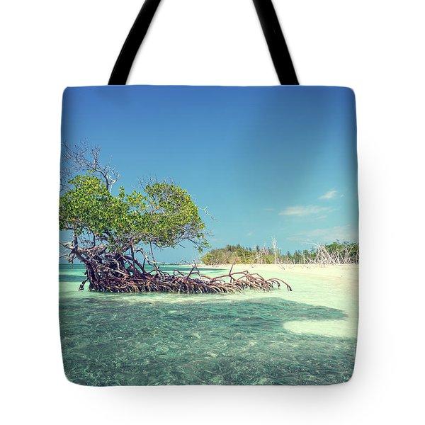 Cayo Levisa Tote Bag