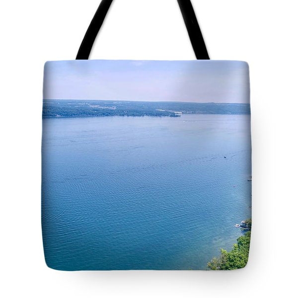 Cayuga From Above Tote Bag