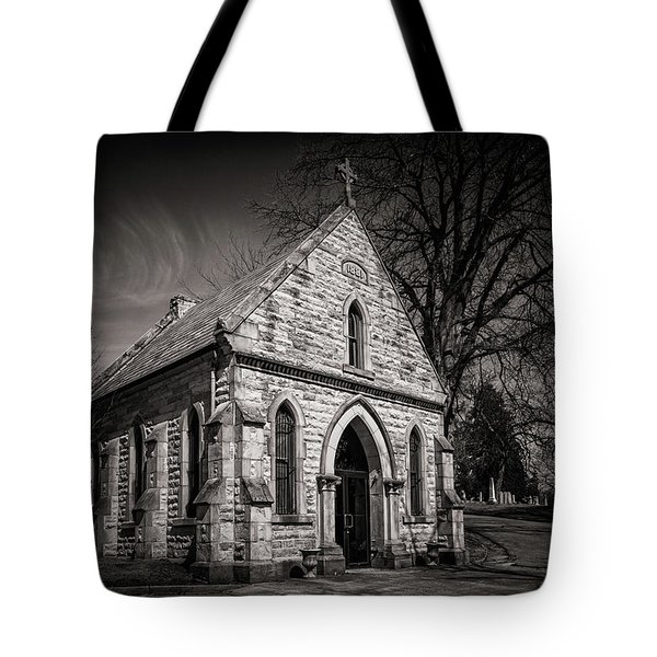 Cedar Hill Chapel Tote Bag