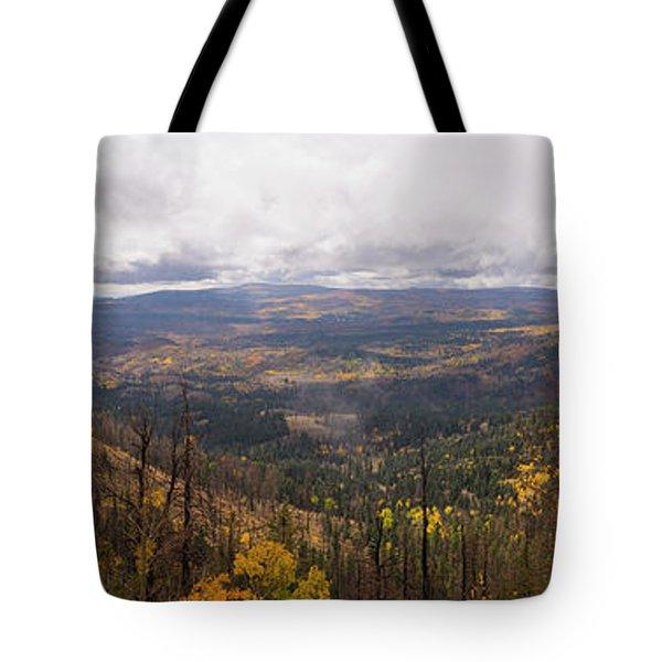 Cedar Mountain Top  Tote Bag