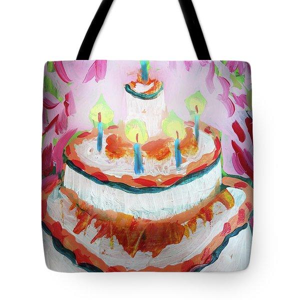 Celebration Cake Tote Bag