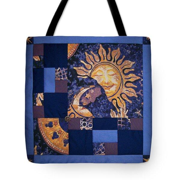 Celestial Slumber Tote Bag