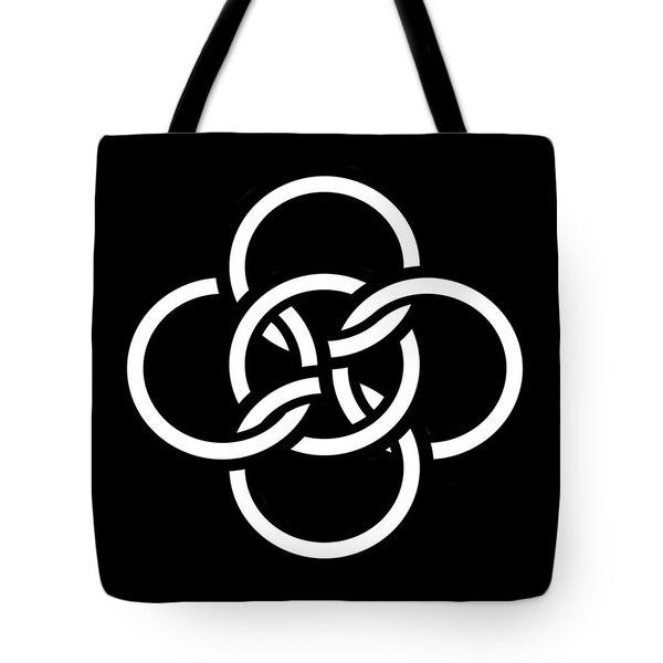 Celtic Five Fold Symbol 2 Tote Bag