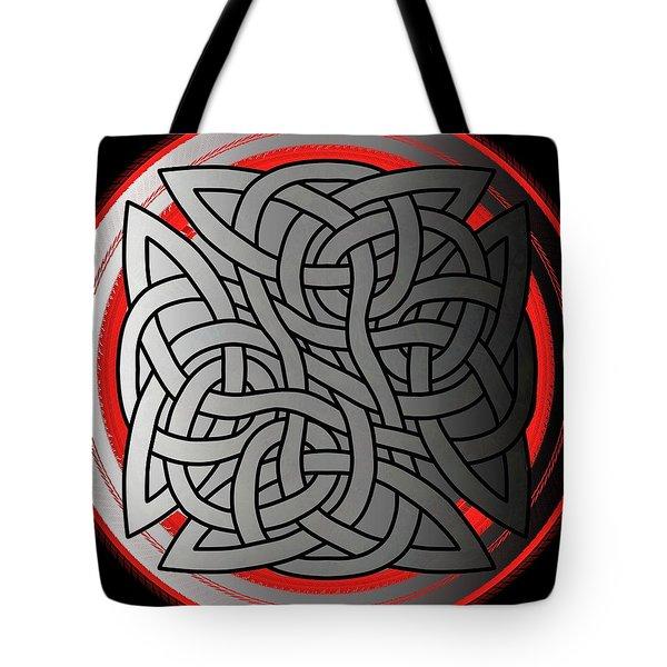 Celtic Shield Knot 4 Tote Bag