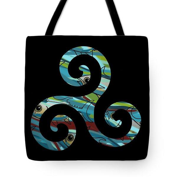 Celtic Spiral 2 Tote Bag