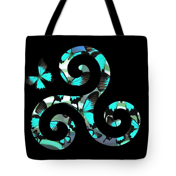 Celtic Spiral 3 Tote Bag