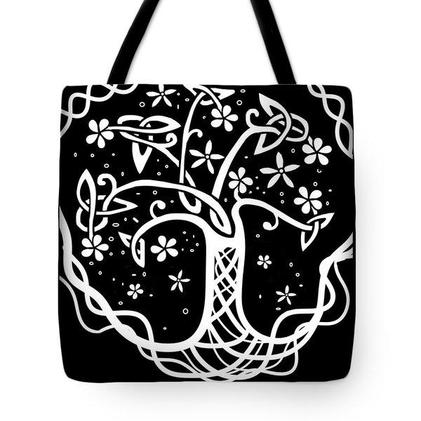 Celtic Tree Of Life 3 Tote Bag