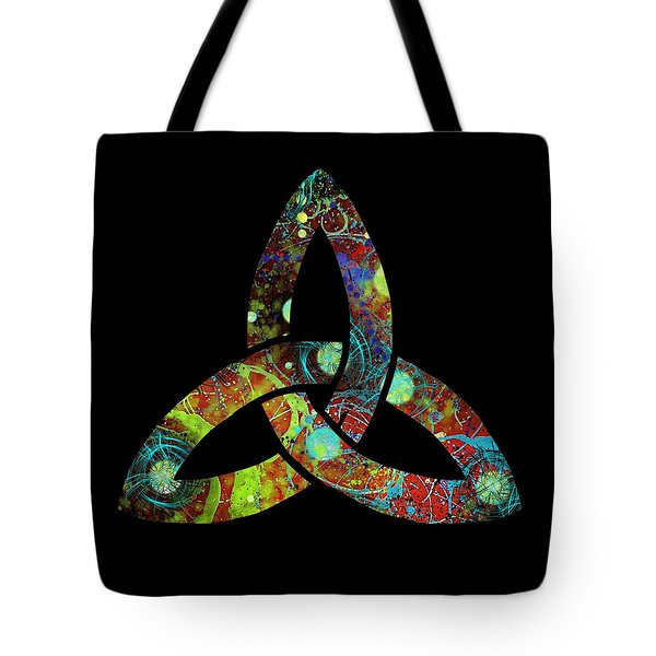 Celtic Triquetra Or Trinity Knot Symbol 1 Tote Bag