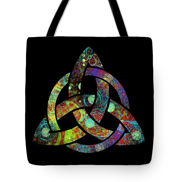 Celtic Triquetra Or Trinity Knot Symbol 3 Tote Bag