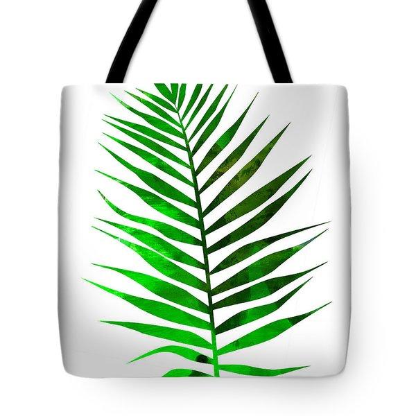 Chamaedorea Leaf Tote Bag