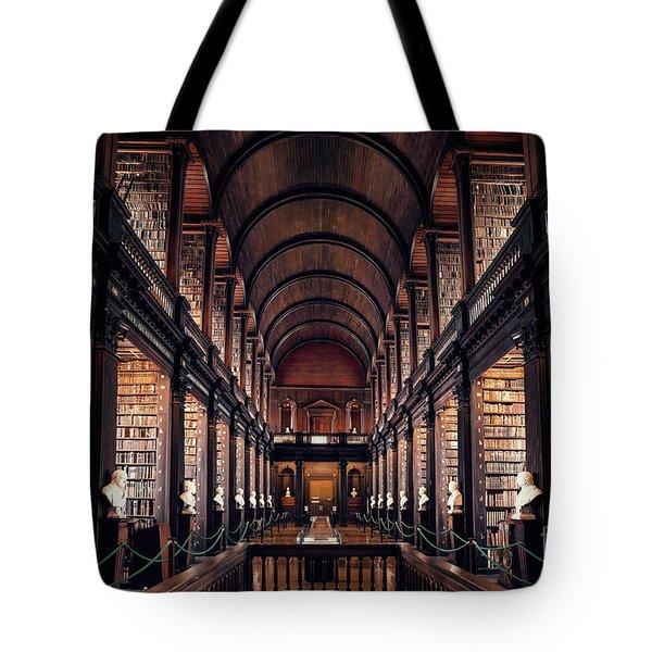 Chamber Of Eternal Wisdom Tote Bag