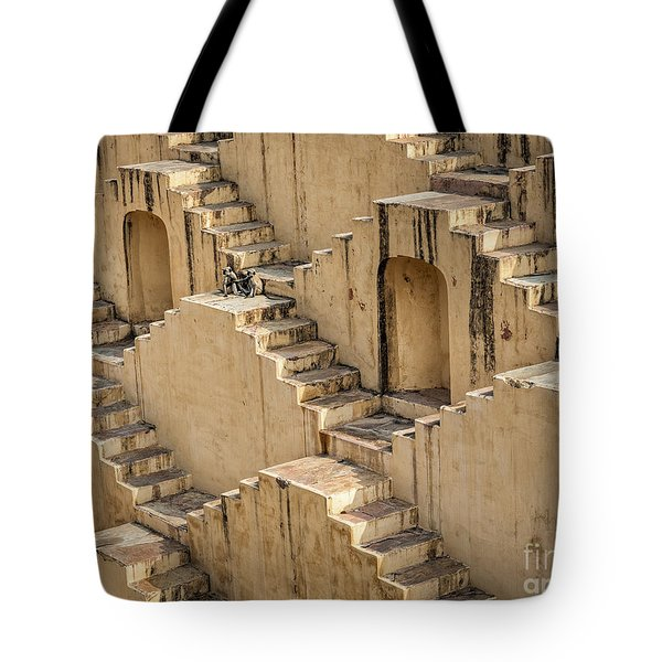 Chand Baori Tote Bag