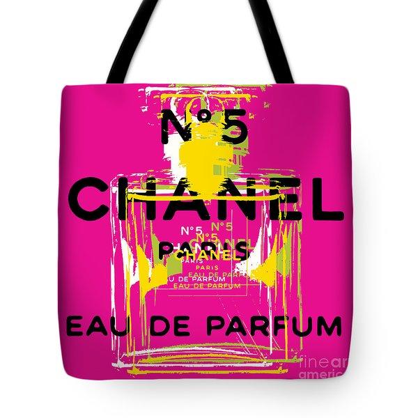 Chanel No 5 Pop Art - #3 Tote Bag
