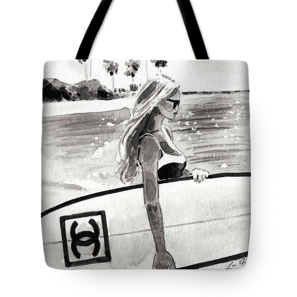 Chanel Surf In Paradise Tote Bag