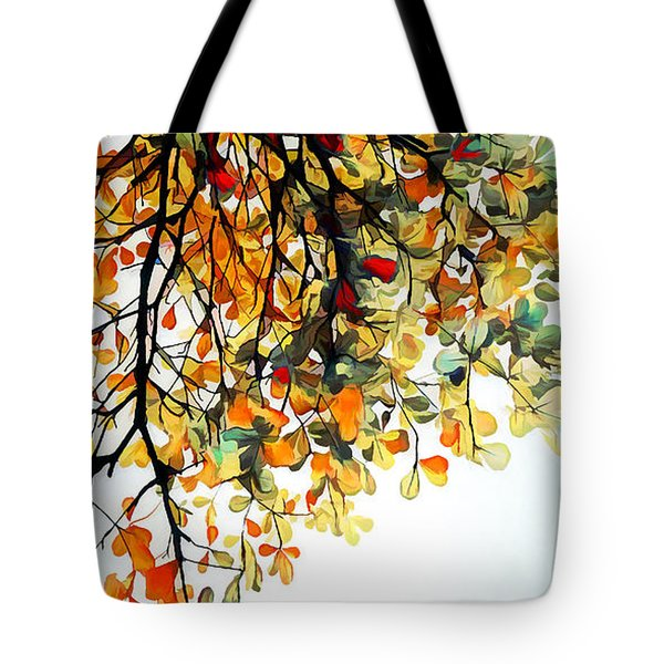 Tote Bag featuring the digital art Change Of Season by Pennie McCracken