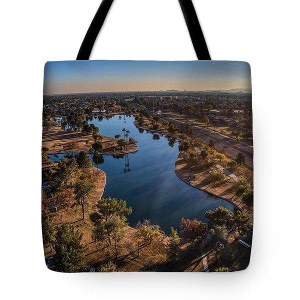 Chaparral Lake Tote Bag