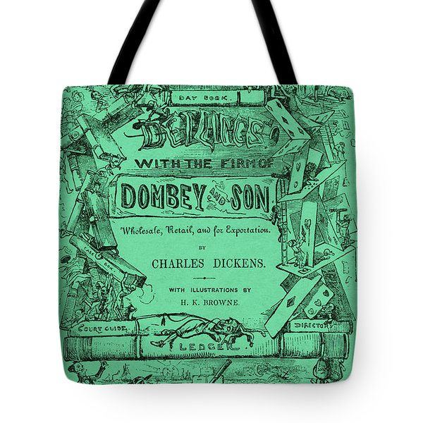 Charles Dickens  Dombey And Son Tote Bag