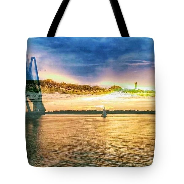 Charleston Harbor Sc Tote Bag