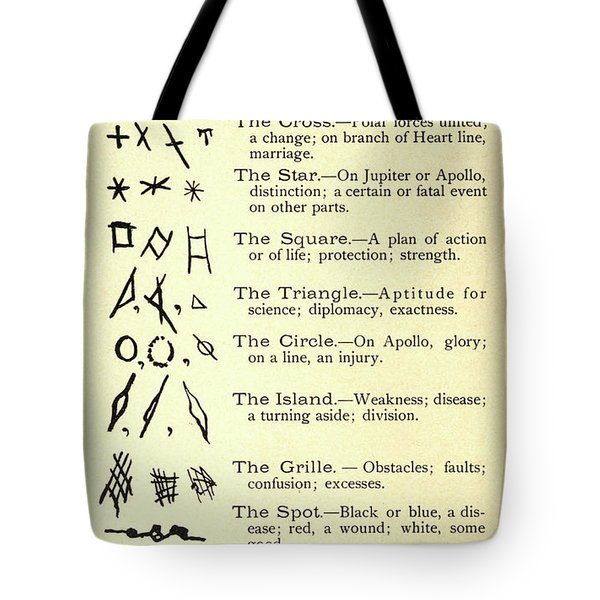 Chart Of Marks Tote Bag