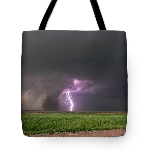 Chasing Naders In Nebraska 017 Tote Bag