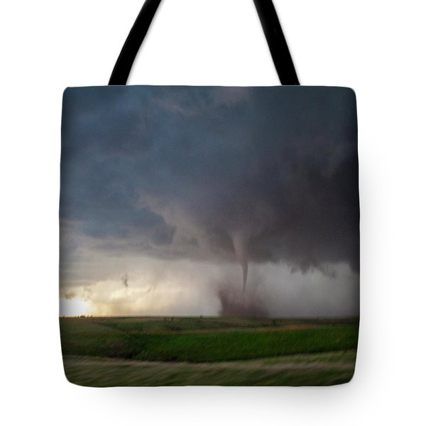 Chasing Naders In Nebraska 026 Tote Bag