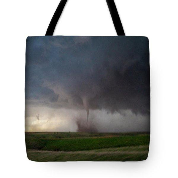 Chasing Naders In Nebraska 026 Tote Bag