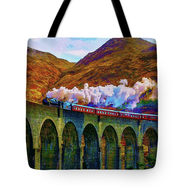 Chasing The Trestle Tote Bag