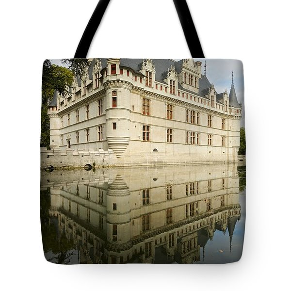 Tote Bag featuring the photograph Chateau Azay-le-rideau, by Stephen Taylor