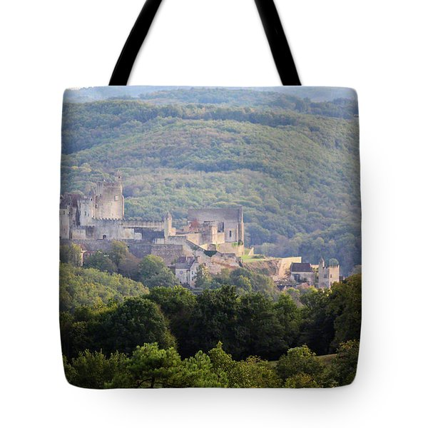 Chateau Beynac, France Tote Bag